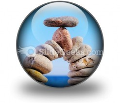 Balancing PowerPoint Icon C