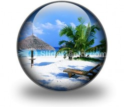 Beach02 PowerPoint Icon C