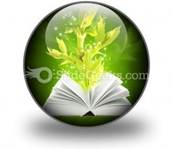 Book Of Magic PowerPoint Icon C