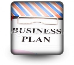 Business Plan01 PowerPoint Icon S