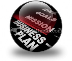 Business Plan03 PowerPoint Icon C