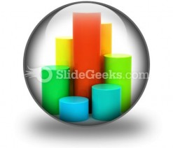 Color Chart PowerPoint Icon C