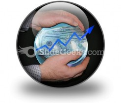 Crystal Ball Success PowerPoint Icon C