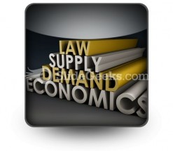 Economics PowerPoint Icon S