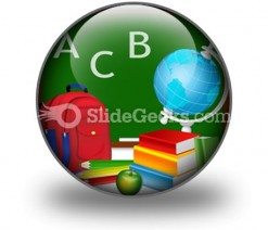 Education PowerPoint Icon C