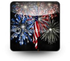 Fireworks PowerPoint Icon S