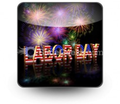 Labor Day PowerPoint Icon S