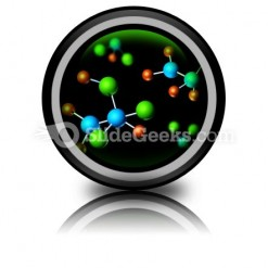 Molecular Structures PowerPoint Icon Cc