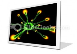 Neuronal Cell PowerPoint Icon F