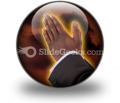 Prayer Of Fire PowerPoint Icon C