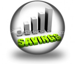 Savings PowerPoint Icon C
