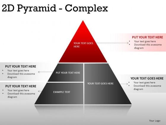 2d pyramid complex powerpoint presentation slides