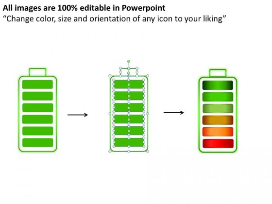 Batteries Charging Style 5 PowerPoint Presentation Slides