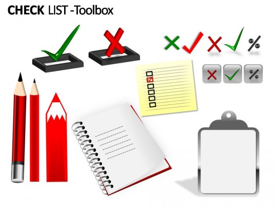 Check List PowerPoint Presentation Slides