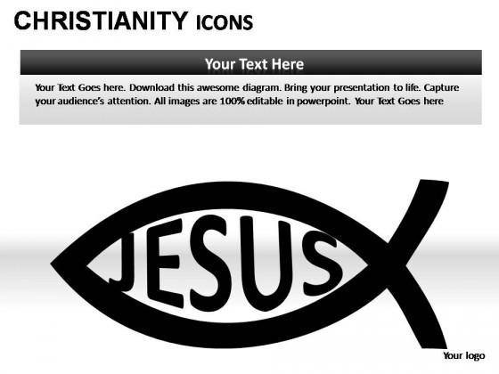 Christianity Icons PowerPoint Presentation Slides
