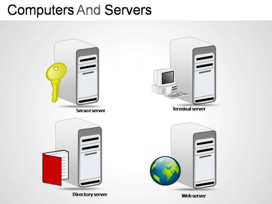 Computers And Servers PowerPoint Presentation Slides
