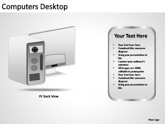 Computers Desktop PowerPoint Presentation Slides