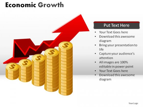 Economic Growth PowerPoint Presentation Slides