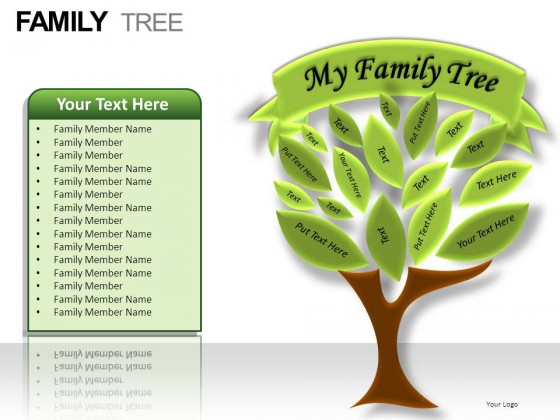 Tree Templates Related Keywords & Suggestions - Decorative Family Tree ...