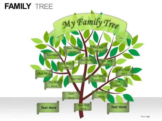 family tree powerpoint presentation slides
