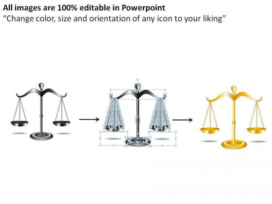Hanging Scale Gray PowerPoint Presentation Slides