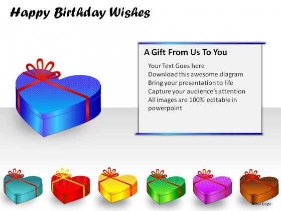 Birthday Wishes PowerPoint Presentation Slides – Professional Birthday Greeting
