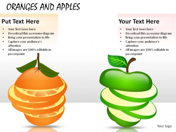 apples versus oranges comparative essay I have students write the compare/contrast essay next because it is an  for  example, i could contrast apples and oranges because they are.