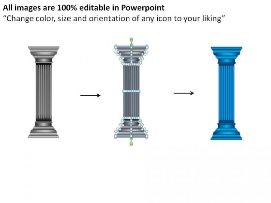 Pillars PowerPoint Presentation Slides