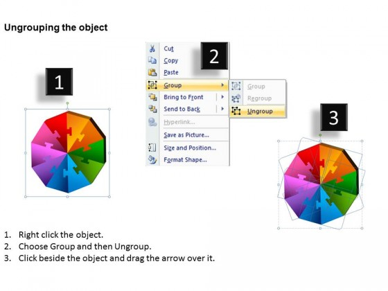 PowerPoint Template Diagram Puzzle Pieces Ppt Slides