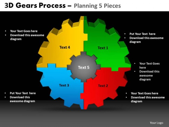 Powerpoint template download gears process planning ppt slides toneelgroepblik Choice Image