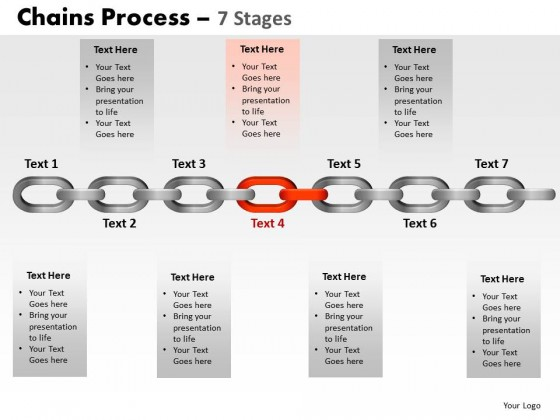 PowerPoint Template Marketing Chains Process Ppt Slides