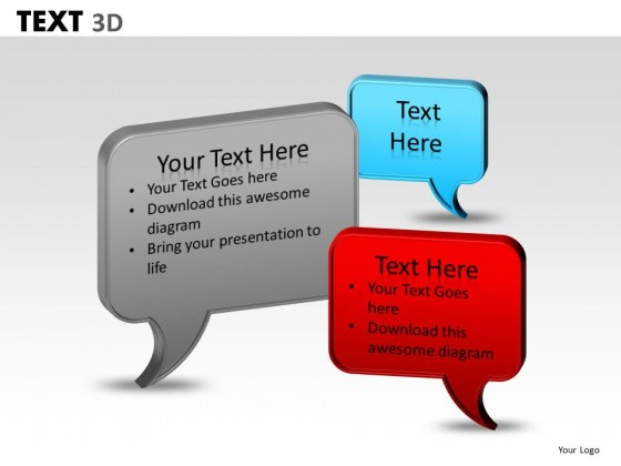 PowerPoint Template Strategy Text Ppt Slides
