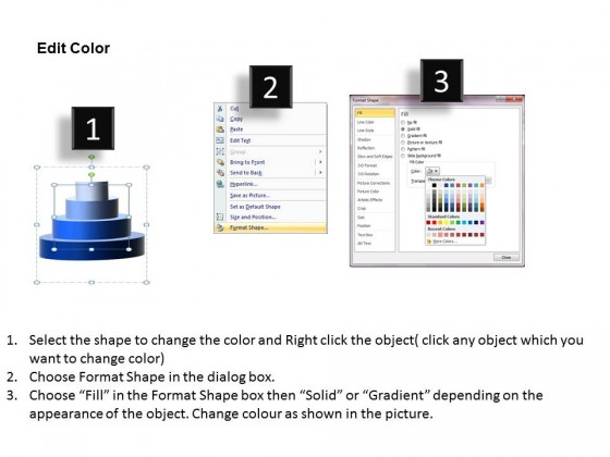 powerpoint template success circular pyramid ppt slides, Modern powerpoint