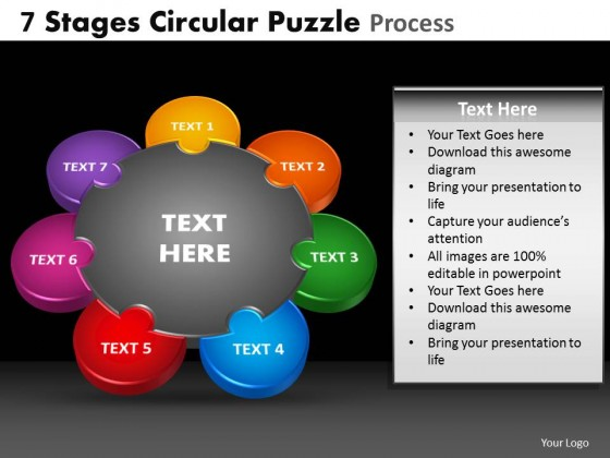 Powerpoint template teamwork circular puzzle process powerpointtemplateteamworkcircularpuzzleprocess2g toneelgroepblik Choice Image