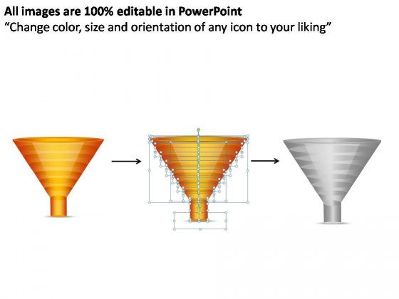 Sales And Marketing Funnel 7 Stages PowerPoint Presentation Slides