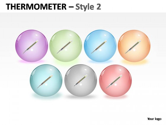 Thermometer Style 2 PowerPoint Presentation Slides