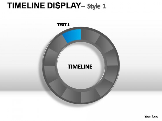 Timeline Display Style 1 PowerPoint Presentation Slides