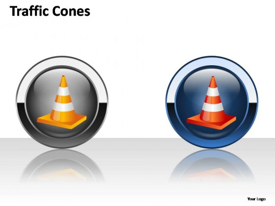 Traffic Cones PowerPoint Presentation Slides