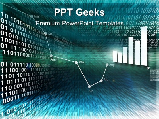 Abstract Binary Business PowerPoint Templates And PowerPoint Backgrounds 0411