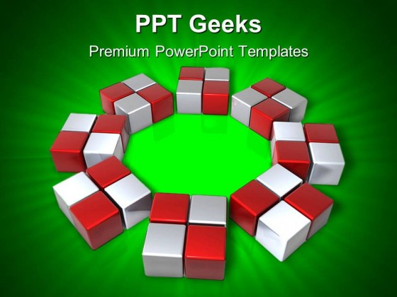 Array Solution Business PowerPoint Templates And PowerPoint Backgrounds 0411