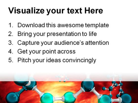 Atom01 Medical PowerPoint Template 0610
