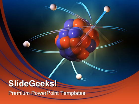 Atom Science Powerpoint Template