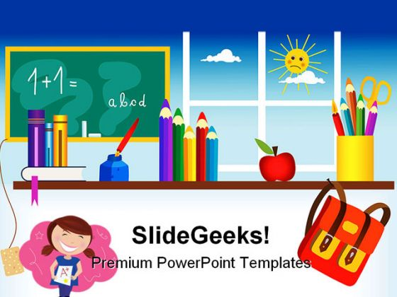 back to school01 education powerpoint backgrounds and