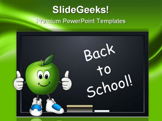 Back To School01 Education PowerPoint Template 0810