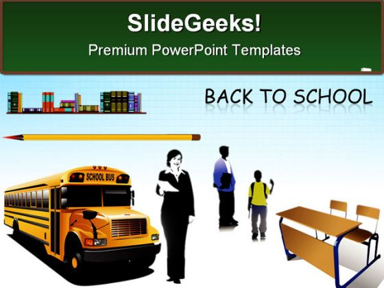 Back To School Background Education PowerPoint Backgrounds And Templates 1210