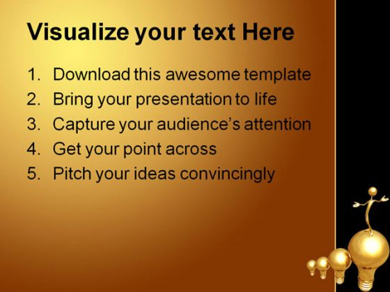 Big Idea Future PowerPoint Template 0510