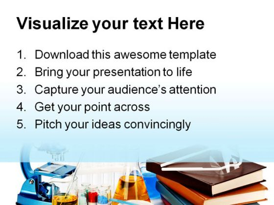 Flasks Science Powerpoint Template