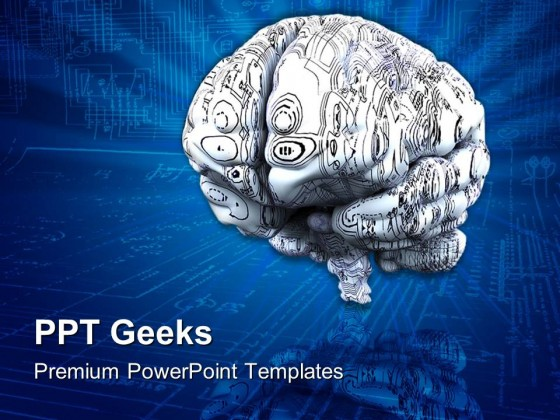 Brain01 Medical PowerPoint Templates And PowerPoint Backgrounds 0411