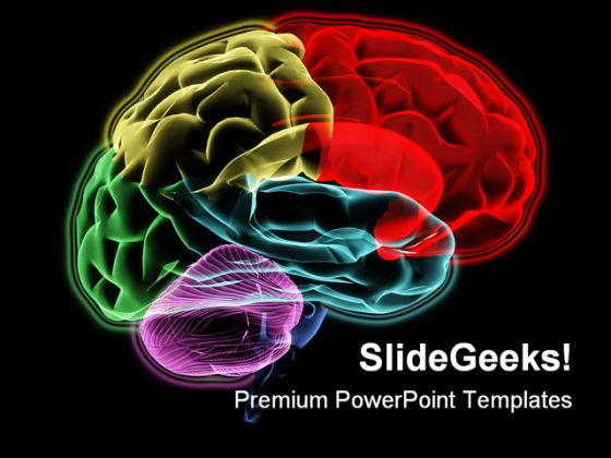 Brain Medical Powerpoint Template