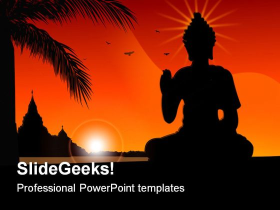 India powerpoint powerpoint templates budha religion powerpoint template 0610 toneelgroepblik Images